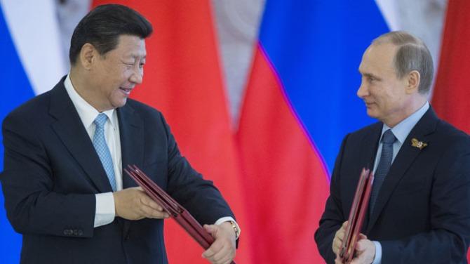 Russia - China integtate on Eurasian Market