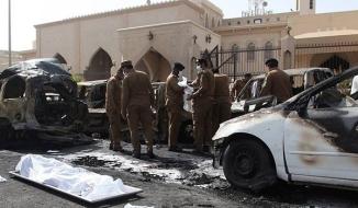 Suicide Blast @ Masjid e Imam Hussain , Dammam , Saudi Arabia. a