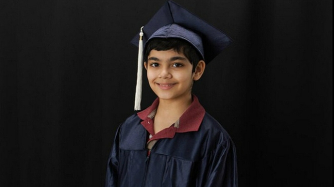 Tanishq Abraham , 11 Year Old Graduate with 3 Degrees