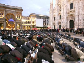 With 1.5 M Muslims , Islam is not recognized as Official Religion in Italy