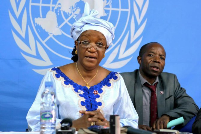 Zainab Hawa Bangura - UN Special envoy on Sexual Violence and crimes