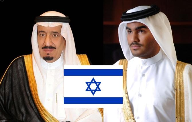King Salman & Sh. Thani Jewish Puppets