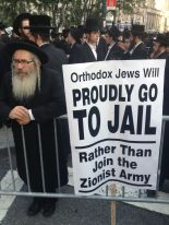 Orthodox American Jews Protest against Israel Day in NY