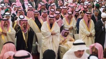 Saudi King Salman and the Hiers of Al E Saud Family