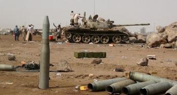 YEmeni Army and Popular forces sieze Al Hazm town near Saudi Border