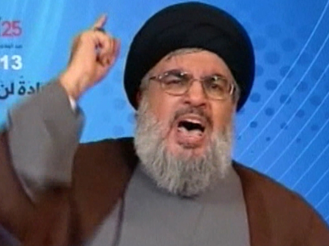 Lebanese Leader Hassan Nasrallah