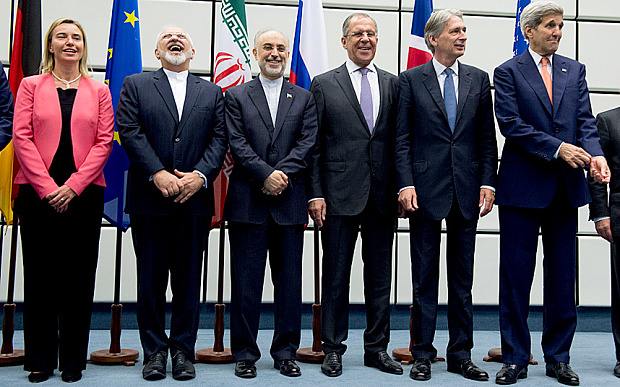 World Powers G5+1 reaches Deal with Iran on Nuclear issues
