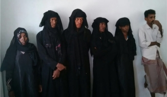 Ansarullab forces capture IS Ethopian Terrorists Disguised as Woman in Yemen
