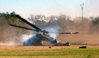 Saudi forces Chopper shot down by Yemeni forces. a
