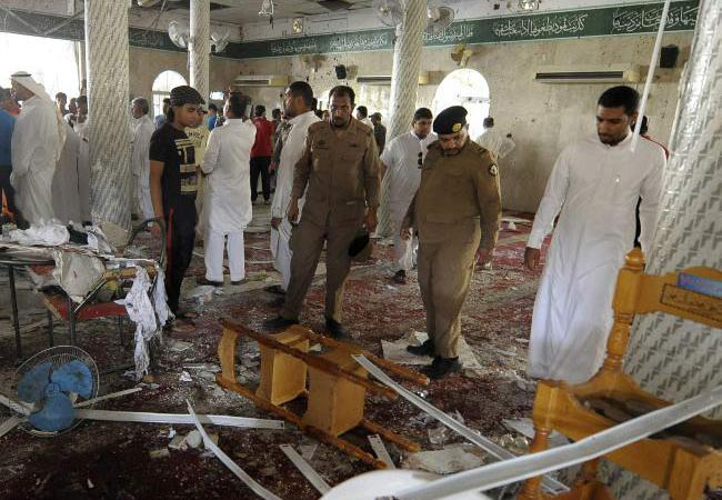 Suicide Attack @ Mosque in Asir Used by  Saudi Arabia forces