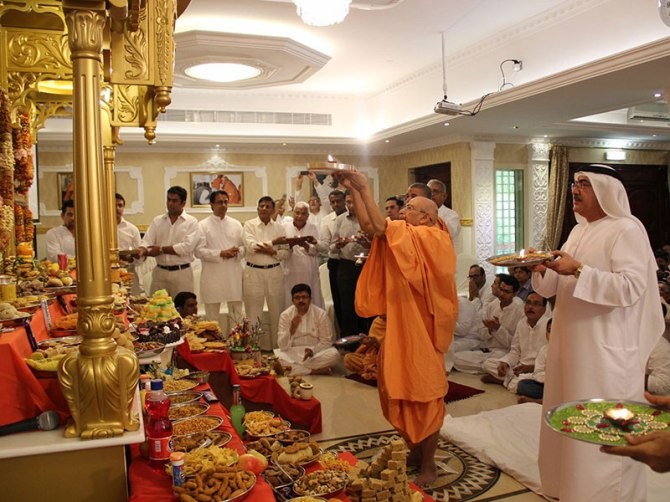 UAE Monarchy allocates Land for a Hindu Temple in Abu Dhaabi