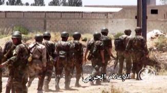 Millitants start to Surrender in Zabadani , Syria