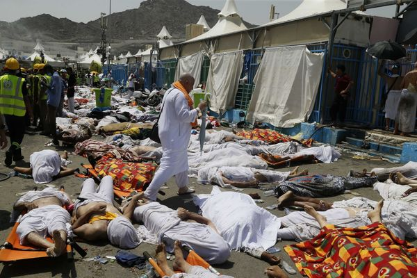 Muslim Pilgrms Killed During Haj Pilgrimage in Saudi Arabia. a