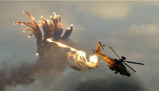 Saudi Apache Chopper Down by Yemen