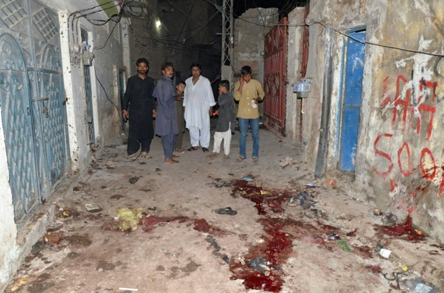 Suicide bombing at a Muharram Procession at Lashari Mohalla , Jacobabad 2