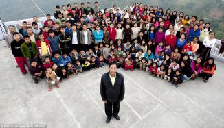 World Biggest Family with 39 Wives 94 Children & 33 Grand Children