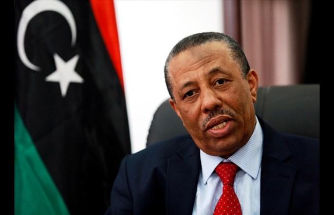 LIbyan Prime Minister Adbullah Al Thani