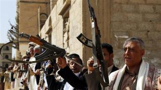 Ansarallah forces in Yemen