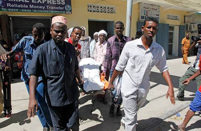 Mogadishu Attack By Al Shabab Terrorists