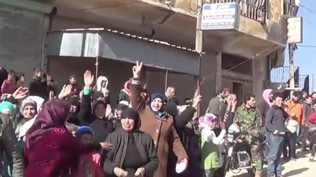 Syrian forces Break the terroristt siege of 2 Shiite Town of Aleppo ,