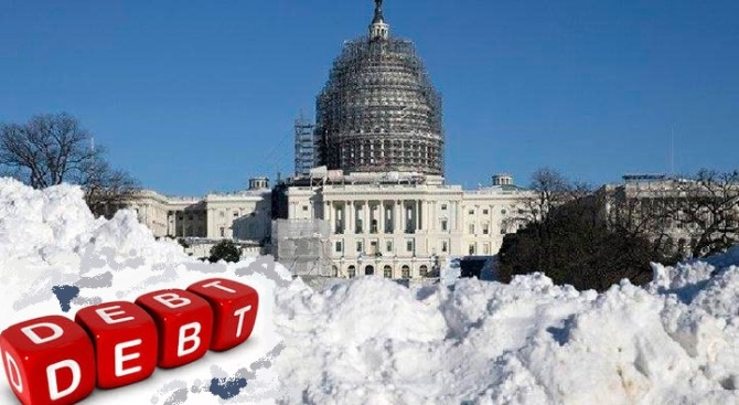 US Debt Freezing Economy