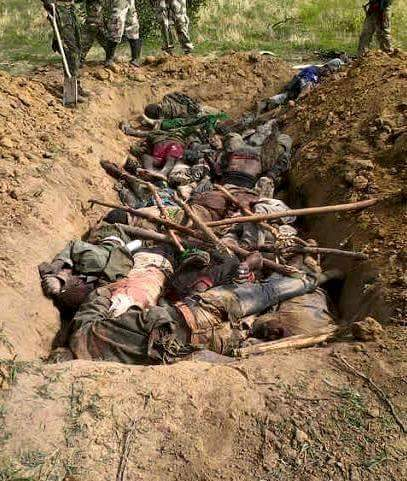 Mass Grave of 350 Nigerian Shia Men