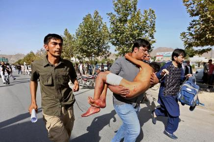 80 Shia Hazara Martyred in Double Suicide Attack in Kabul f