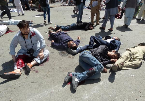 80 Shia Hazara Martyred in Double Suicide Attack in Kabul